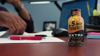 5-Hour Energy TV Spot, 'Work Late'