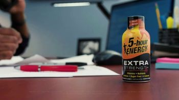 5-Hour Energy TV Spot, 'Work Late'