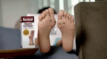 Kerasal Intensive Foot Repair TV Spot, 'Heel Talk' - 3741 commercial airings
