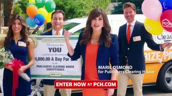 Publishers Clearing House TV Spot, 'Real Winner' Featuring Marie Osmond