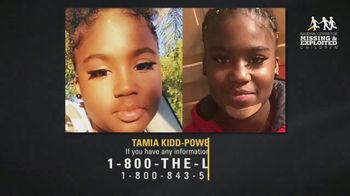 National Center for Missing & Exploited Children TV Spot, 'Tamia Kidd-Powell' - Thumbnail 4