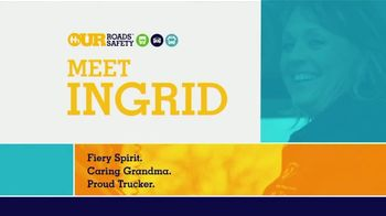 U.S. Department of Transportation TV Spot, 'Our Roads Safety: Meet Ingrid' - Thumbnail 1