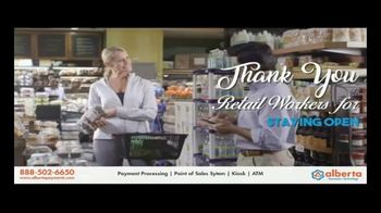 Alberta Payments TV Spot, 'Thank You Retail Workers'
