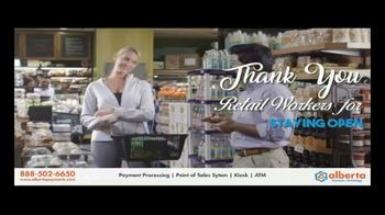 Alberta Payments TV Spot, 'Thank You Retail Workers' - Thumbnail 3