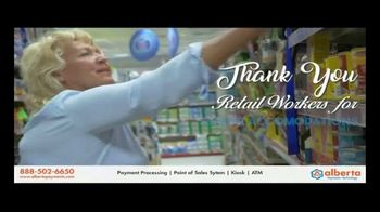 Alberta Payments TV Spot, 'Thank You Retail Workers' - Thumbnail 4
