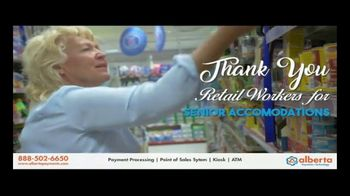 Alberta Payments TV Spot, 'Thank You Retail Workers' - Thumbnail 5