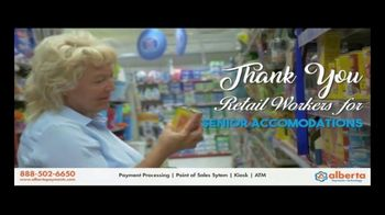 Alberta Payments TV Spot, 'Thank You Retail Workers' - Thumbnail 6