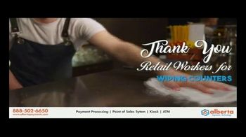 Alberta Payments TV Spot, 'Thank You Retail Workers' - Thumbnail 7