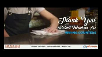 Alberta Payments TV Spot, 'Thank You Retail Workers' - Thumbnail 8