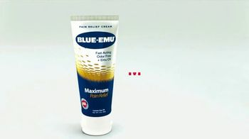 Blue-Emu Maximum Pain Relief TV Spot, 'Works Fast and You Won't Stink' - Thumbnail 1