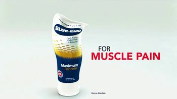 Blue-Emu Maximum Pain Relief TV Spot, 'Works Fast and You Won't Stink' - Thumbnail 2