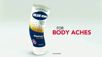 Blue-Emu Maximum Pain Relief TV Spot, 'Works Fast and You Won't Stink'