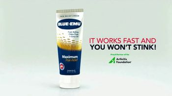 Blue-Emu Maximum Pain Relief TV Spot, 'Works Fast and You Won't Stink' - Thumbnail 6