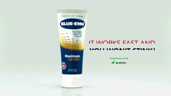 Blue-Emu Maximum Pain Relief TV Spot, 'Works Fast and You Won't Stink' - Thumbnail 7