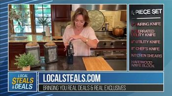 Local Steals & Deals TV Spot, \'J.A. Henckels\' Featuring Lisa Robertson
