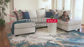 Ashley HomeStore Labor Day Sale TV Spot, 'Extended: 30% Off, Plus 10%' - Thumbnail 2