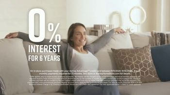 Ashley HomeStore Labor Day Sale TV Spot, 'Extended: 30% Off, Plus 10%' - Thumbnail 7