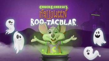Chuck E. Cheese's Halloween Boo-Tacular TV Spot, 'Safely Celebrate' - 3423 commercial airings
