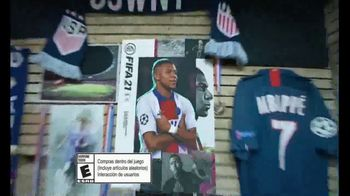 FIFA 21 TV Spot, 'Ganar en equipo' con Kylian Mbappé [Spanish]