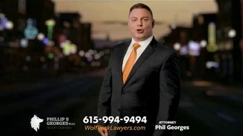 Phillip S. Georges, PLLC TV Spot, 'Wolf Pack: Ride Share Accident' - Thumbnail 1