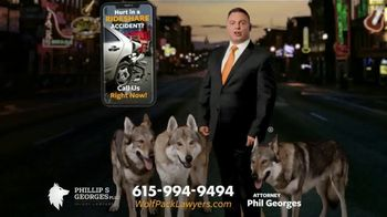 Phillip S. Georges, PLLC TV Spot, 'Wolf Pack: Ride Share Accident' - Thumbnail 2