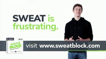 SweatBlock TV Spot, '20% Off Your First Order' - Thumbnail 3