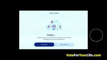 Vote for Your Life TV Spot, 'Vote 2020: How to Vote for Your Life' Song by Vo Williams - Thumbnail 6