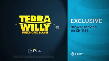 DIRECTV Cinema TV Spot, 'Terra Willy: Unexplored Planet' - Thumbnail 10