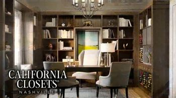 California Closets Nashville TV Spot, '22 Years: Covering Your Home Office Needs'