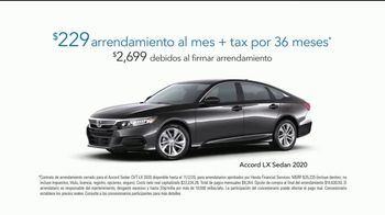 Honda TV Spot, 'Ya nos conoces' [Spanish] [T2] - Thumbnail 7