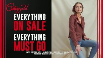 Century 21 Going Out of Business Sale TV Spot, 'Everything Must Go' - Thumbnail 4
