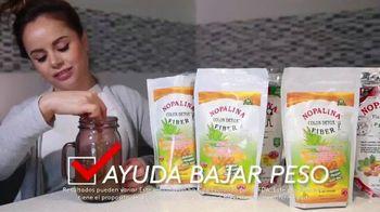 Nopalina Colon Detox TV Spot, 'Elimina las grasas' [Spanish]