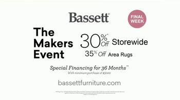 Bassett The Makers Event TV Spot, 'Custom Orders: 30% Off' - Thumbnail 9
