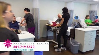PRA Health Sciences TV Spot, 'Free Weekends: Earn up to $5,000' - Thumbnail 9