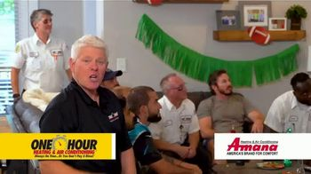 One Hour Heating & Air Conditioning TV Spot, 'Cold Air by Kickoff: $77 Tune-Up and System Inspection - Thumbnail 8