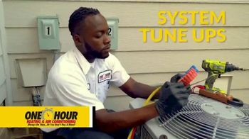 One Hour Heating & Air Conditioning TV Spot, 'Cold Air by Kickoff: $77 Tune-Up and System Inspection - Thumbnail 6