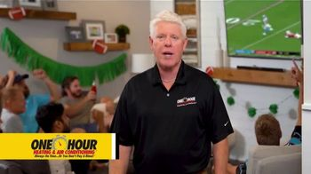 One Hour Heating & Air Conditioning TV Spot, 'Cold Air by Kickoff: $77 Tune-Up and System Inspection - Thumbnail 7