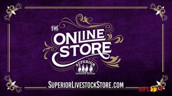 Superior Livestock Auction TV Spot, 'The Online Store for Official Apparel'