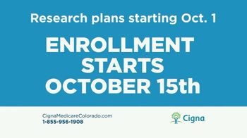 Cigna Medicare Advantage Plan TV Spot, 'Medicare Annual Enrollment' - Thumbnail 3