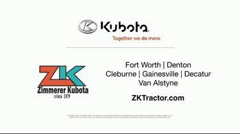 Kubota TV Spot, 'Construction Equipment: Attention to Detail:60 Months' - Thumbnail 10
