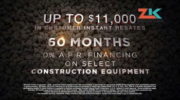 Kubota TV Spot, 'Construction Equipment: Attention to Detail:60 Months' - Thumbnail 7