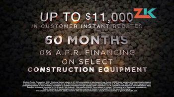 Kubota TV Spot, 'Construction Equipment: Attention to Detail:60 Months' - Thumbnail 8