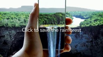 SAS TV Spot, 'Click to Save the Rainforest'