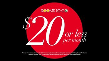 Rooms to Go TV Spot, 'It's Happening: Under $1,000' - Thumbnail 7