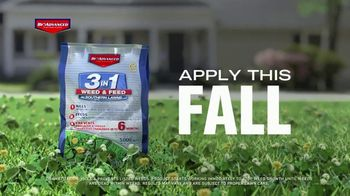 BioAdvanced 3-in-1 Weed & Feed TV Spot, 'Fall' - Thumbnail 2