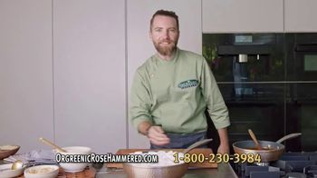 OrGreenic Rose Hammered TV Spot, 'Cooking More Than Ever'