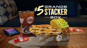 Taco Bell $5 Grande Stacker Box TV Spot, 'Cupcake Conquest' - Thumbnail 9