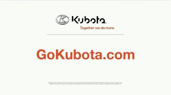 Kubota L Series TV Spot, 'Demo' - Thumbnail 7