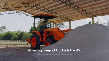Kubota L Series TV Spot, 'Demo' - Thumbnail 4