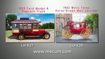 Mecum Gone Farmin' 2020 Fall Premier TV Spot, '1929 Popcorn Truck and 1902 Wells Fargo Carriage' - Thumbnail 6